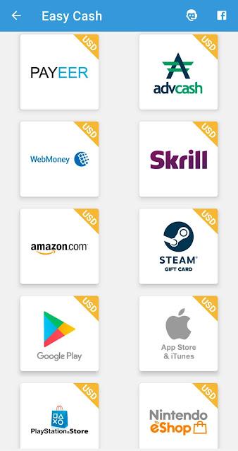 تطبيق صادق لربح رصيد بايير وبطاقات ايتونز والامازون وبطاقات جوجل بلاي والعديد من البطاقات الأخرى | تطبيق Easy Cash