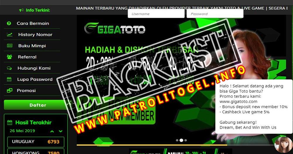 Player Telah Ditipu Oleh Pihak GIGATOTO Karna di Tuduh