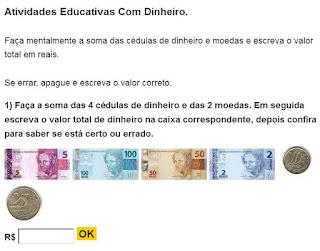 http://www.estudamos.com.br/atividades-com-dinheiro/atividades-com-dinheiro-1.php