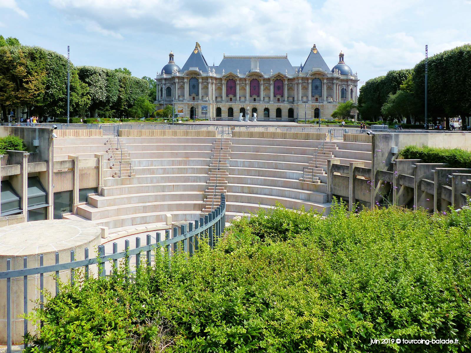 Place de la République, Lille - Musée des Beaux-Arts - 2019