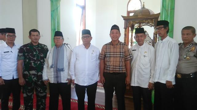 Bupati Muara Enim Resmikan Masjid Al- Baniah Desa Ujan Mas Lama
