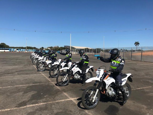 A PMDF fará uma seleção para curso sobre policiamento em moto