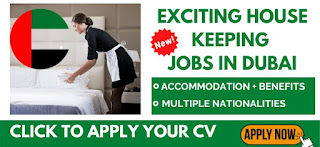 Housekeeping Attendants and Supervisor Recruitment in Big Hotel Dubai