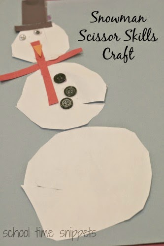 preschool winter craft for kids