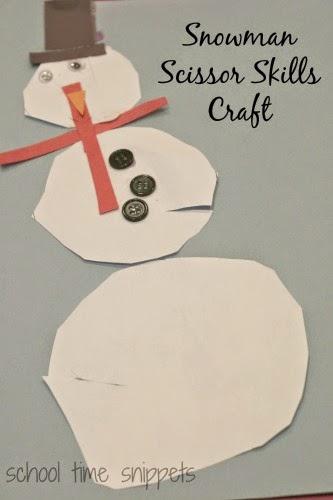 preschool winter craft for kids