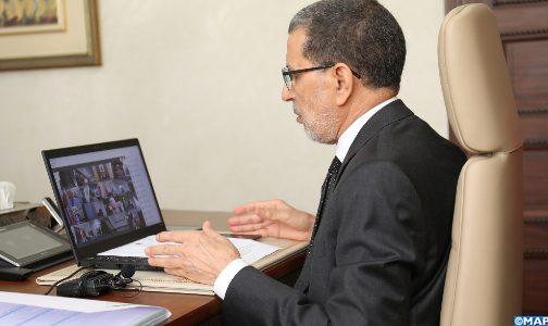 مجلس الحكومة يصادق على مشروع مرسوم يتعلق بتنظيم وتسيير أشغال الحكومة والوضع القانوني لأعضائها