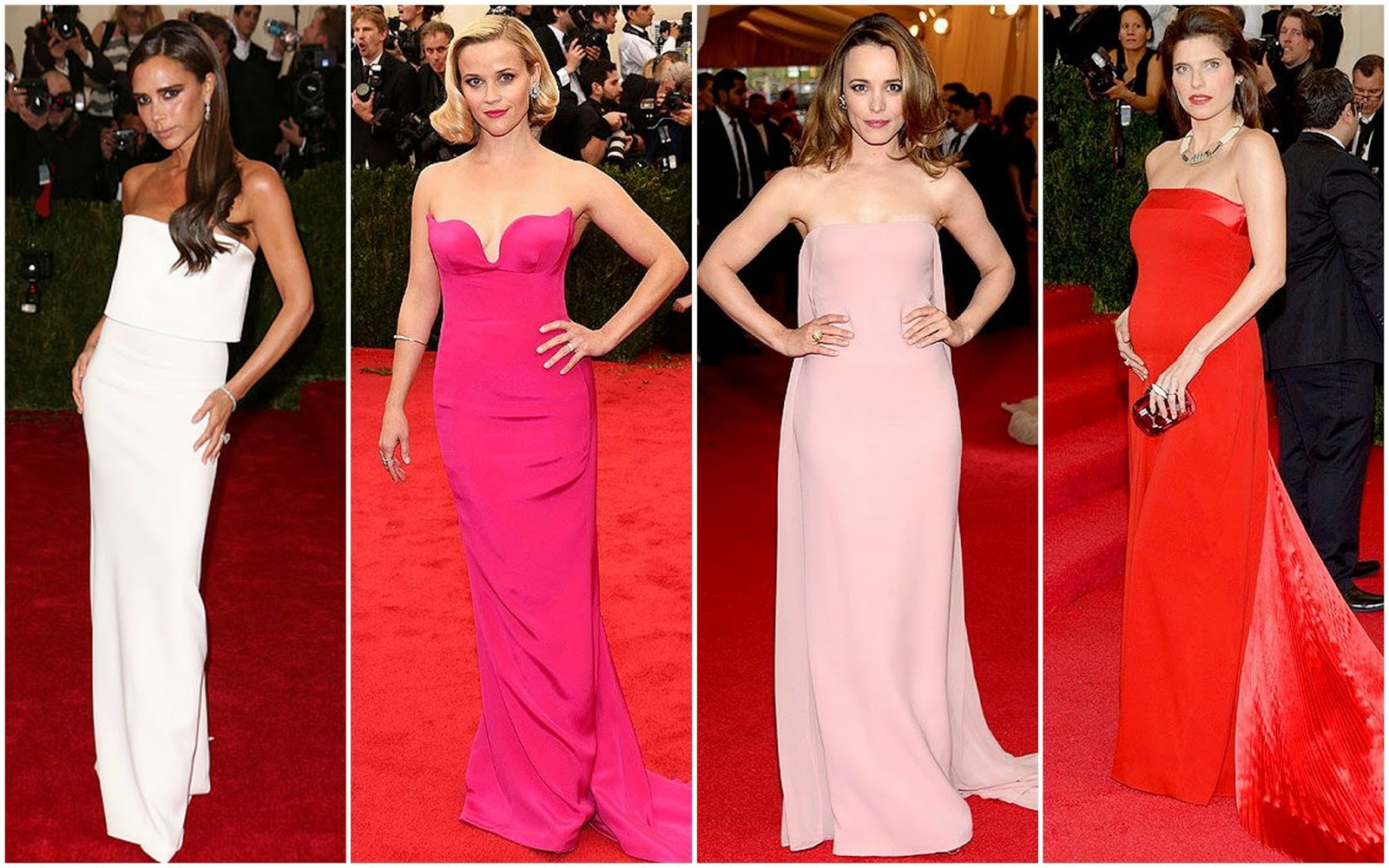 Beautifully Fierce Met Gala 2014 White Tie And Decorations