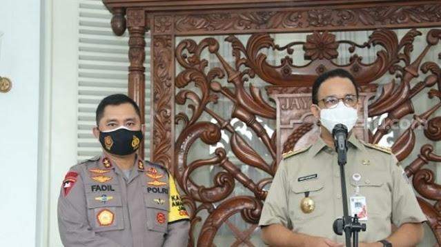 Pernyataan Lengkap Gubernur DKI Jakarta Anies Baswedan Positif Corona