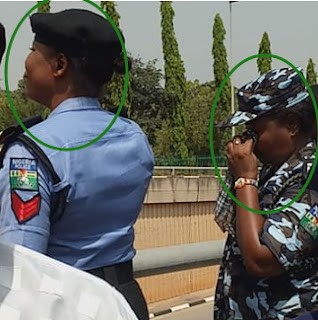 nigerian police women crying missing chibok girls