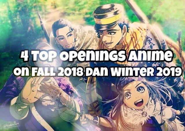 Rekomendasi Opening anime yang enak di dengar Fall 2018 dan Winter 2019