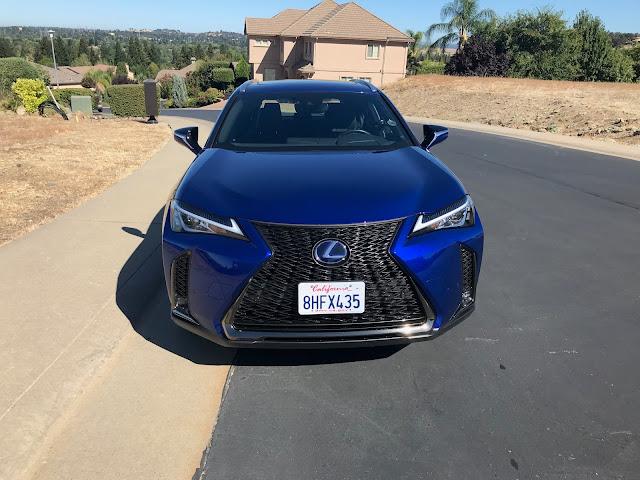 Front view of 2019 Lexus UX 250h F SPORT