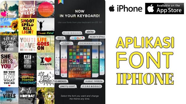 Aplikasi Font iPhone
