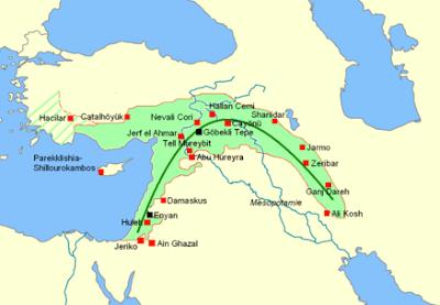 Akdeniz'in doğu kıyısından Basra Körfezi'ne kadar uzanan bumerang şekline benzeyen coğrafi alandır.