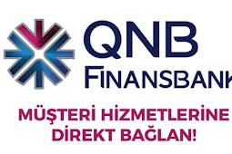 QNB Finansbank Telefon Bankacılığı Direk Müşteri Temsilcisine Bağlanmak