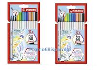 Logo #Happy2020withSTABILO : vinci gratis scatole da 12 pezzi di Pen 68 brush