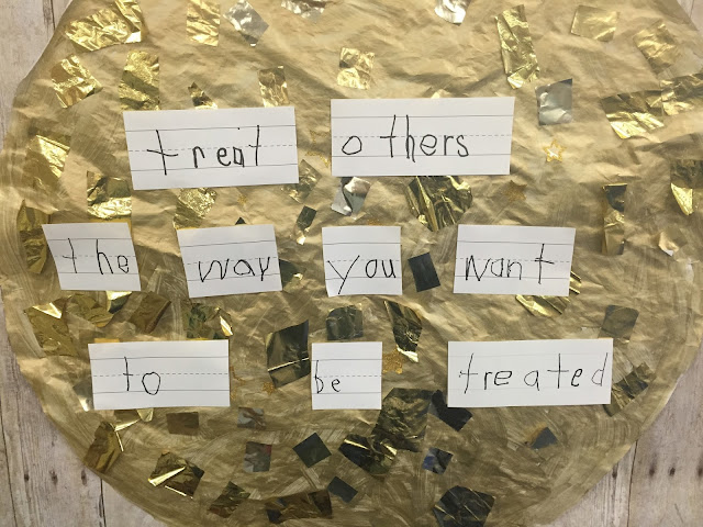 class rules and golden rule in kindergarten