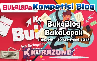 Kompetisi Blog - BukaBlog BukaLapak Berhadiah Total Uang Tunai 61 Juta Rupiah