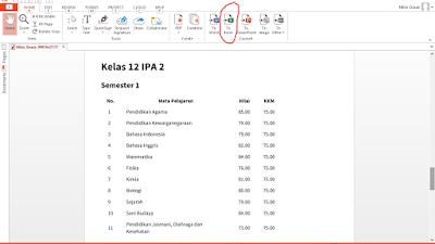 Cara mengubah PDF ke Excel, Word, Gambar, dan Power Point