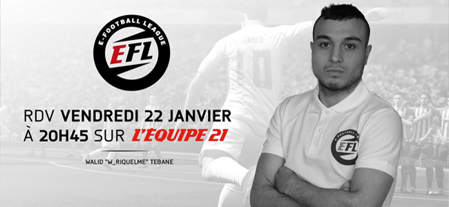 Walid Tebane W_Riquelme E-Football League