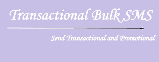 Transactional Bulk SMS Marketing