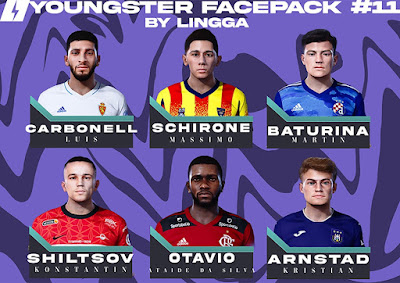 PES 2021 Youngster Facepack 11 by Lingga