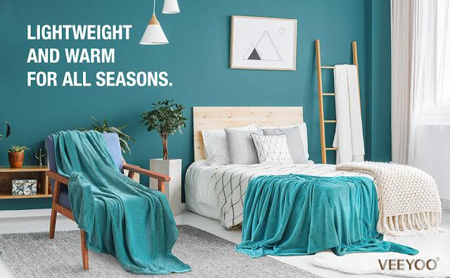 Fleece Blanket, Queen Size
