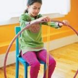 Hula Hoop Rug step 2