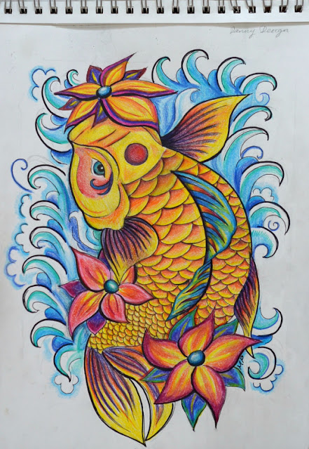 12 Fabulous Koi Fish Tattoos and Meaning