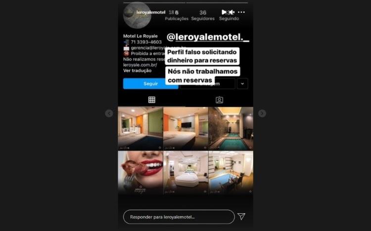 Suposto golpe de reserva em motel causa transtorno na Bahia
