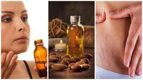 Skin care ideas with argan oil
