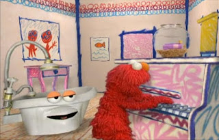 Elmo, Dorothy and the Bathtub sing the bath time song together. Sesame Street Elmo's World Bath Time the bath time song