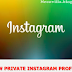 How to Check out a Private Instagram Profile