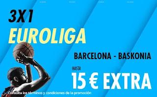 suertia promo euroliga Barcelona vs Baskonia 5-3-2021