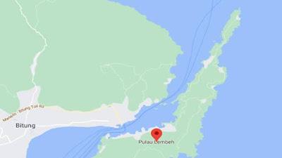 Pemukiman di Pulau Lembeh Patut Anda Ketahui Sebelum Datang Berwisata