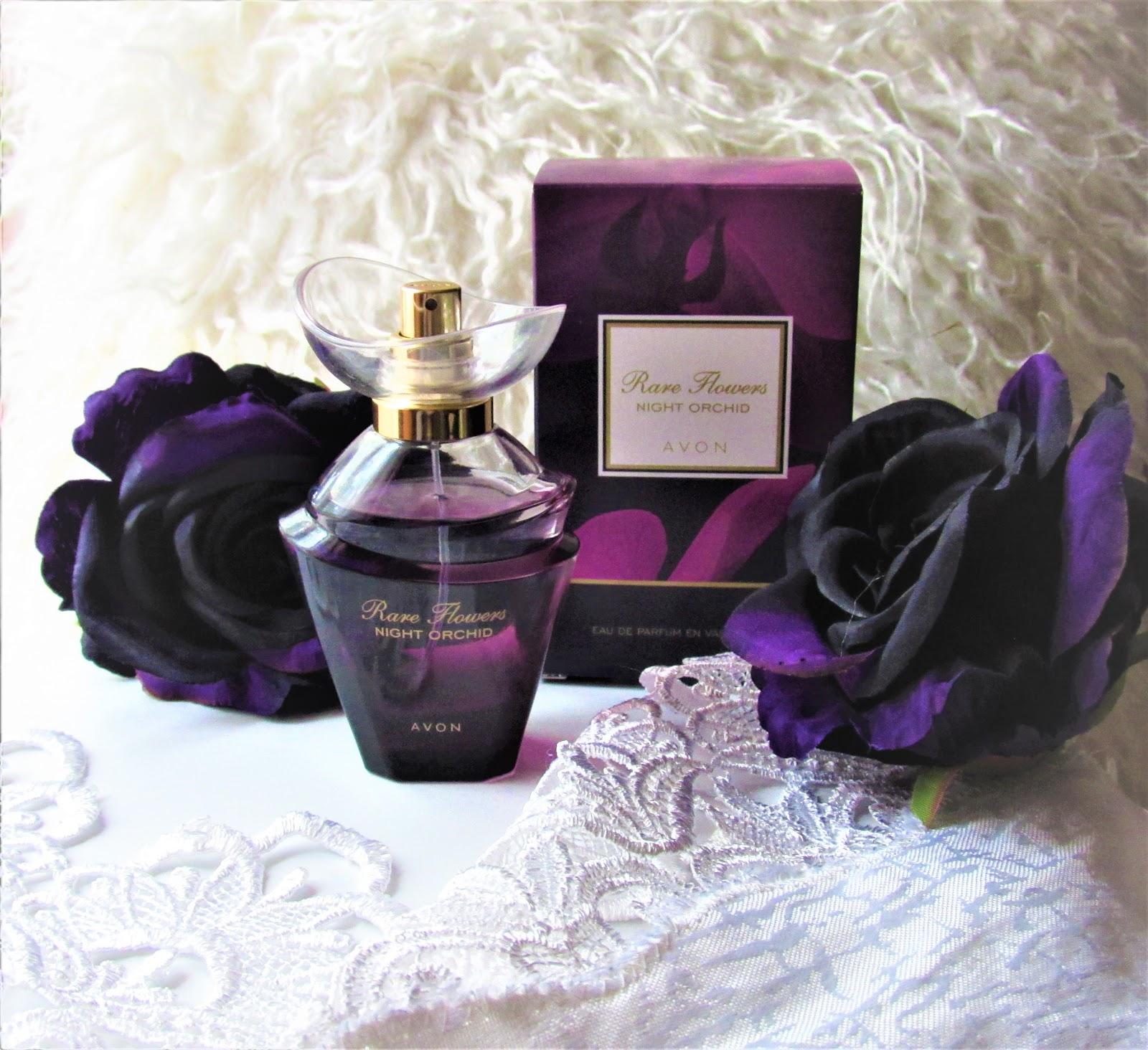 Woda perfumowana Rare Flowers Night Orchid od Avon - Moje wrażenia po  przetestowaniu - Annastylefashion