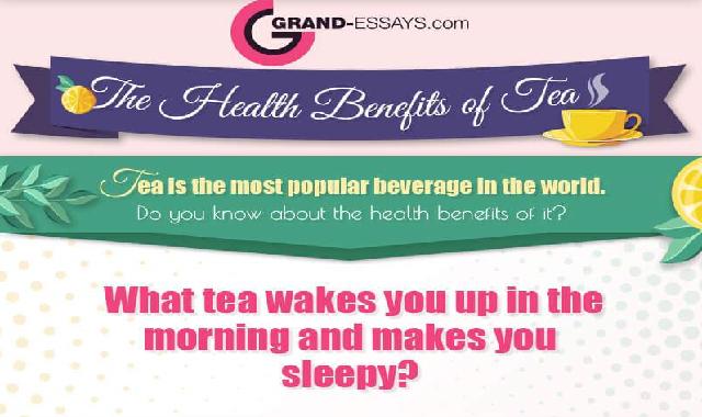 The Health Benefits of Tea #infographic