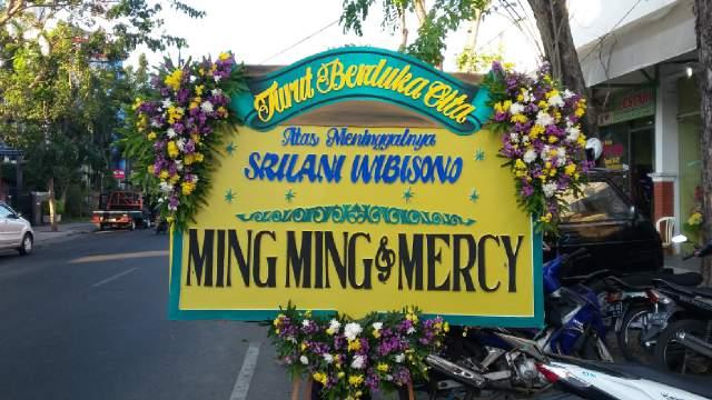 karangan bunga papan di surabaya, toko bunga papan surabaya, bunga papan kayoon surabaya