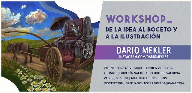 WORKSHOP DARIO MEKLER (ARGENTINA)