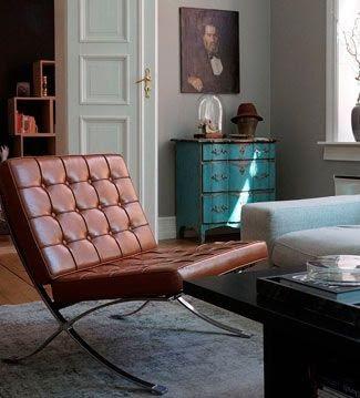 Silla Barcelona de Mies Van Der Rohe en Superestudio.com
