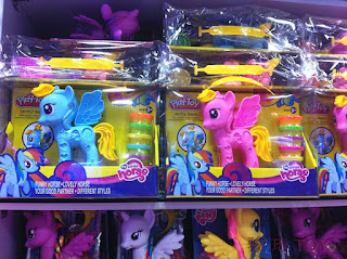MLP My Little Horse Rainbow Dash Fake Play-Doh Style Salon