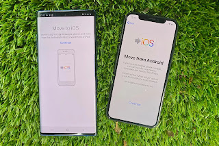 transfer data android to iphone 11
