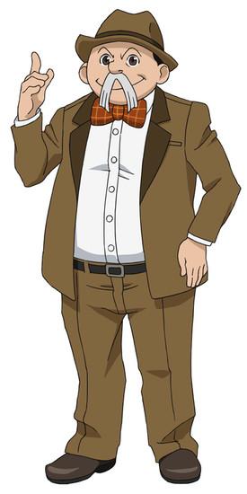 Nobuo Tobita como Shunsaku Han