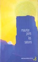 Maurice Pons Les Saisons Christian Bourgois