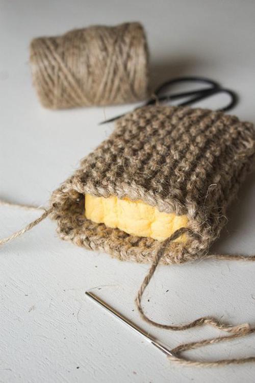 Knit Twine Scrubbing Sponge - Tutorial