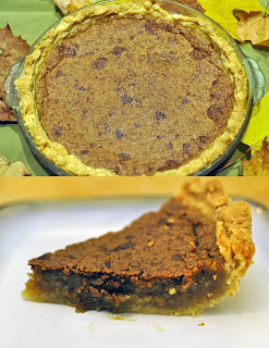 Amish brown sugar pie