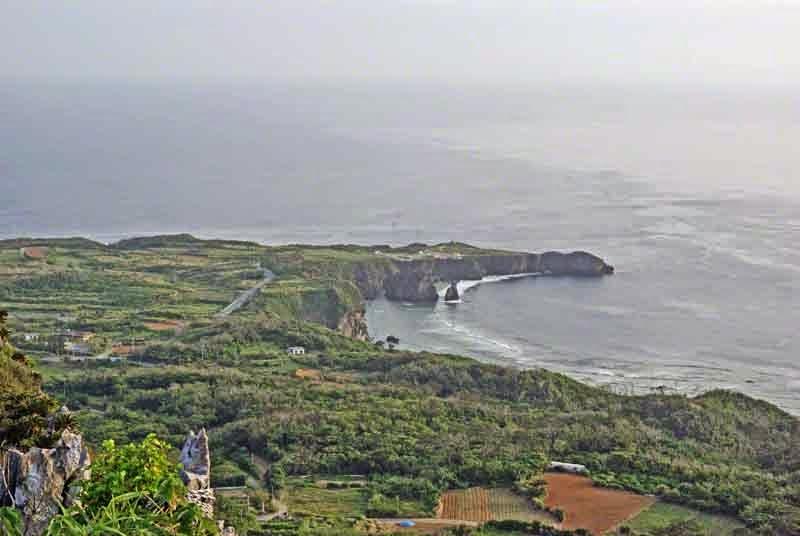 scenery,cloudy,Hedo Point, Okinawa