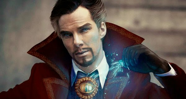 "Fan-art Cumberbatch como ""Dr. Extraño"""