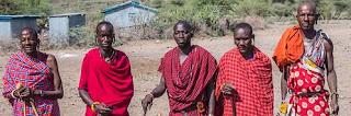 Maasai society of men.