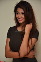 Priya Vadlamani super cute in tight brown dress at Stone Media Films production No 1 movie announcement 033.jpg