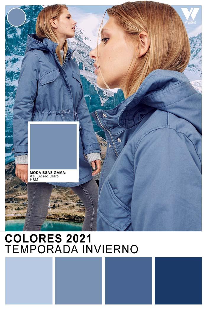 Tendencia colores otoño invierno 2021